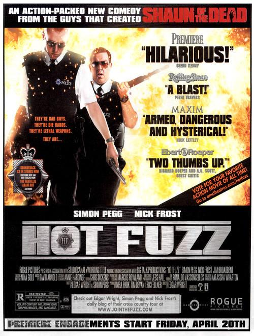 Hot Fuzz - Movie Poster