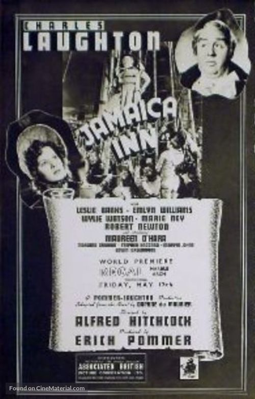 Jamaica Inn - British poster