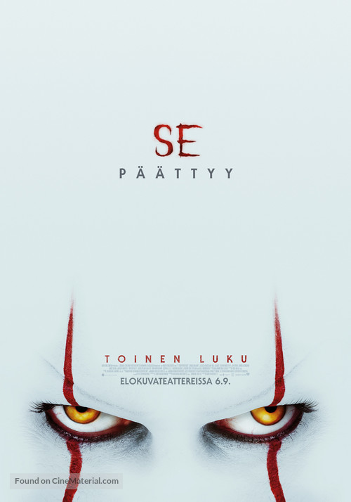 It: Chapter Two - Finnish Movie Poster