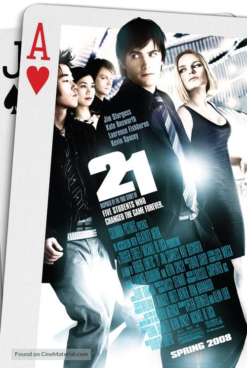 21 - Movie Poster