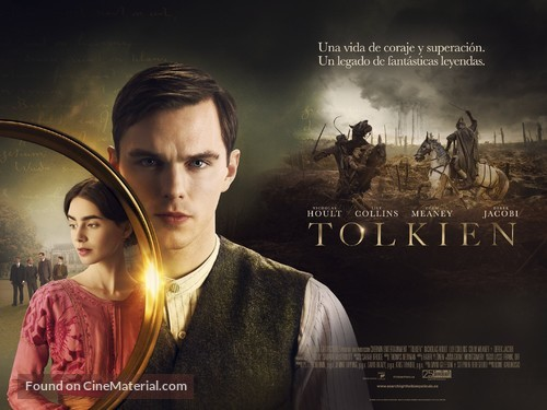 Tolkien - Spanish Movie Poster