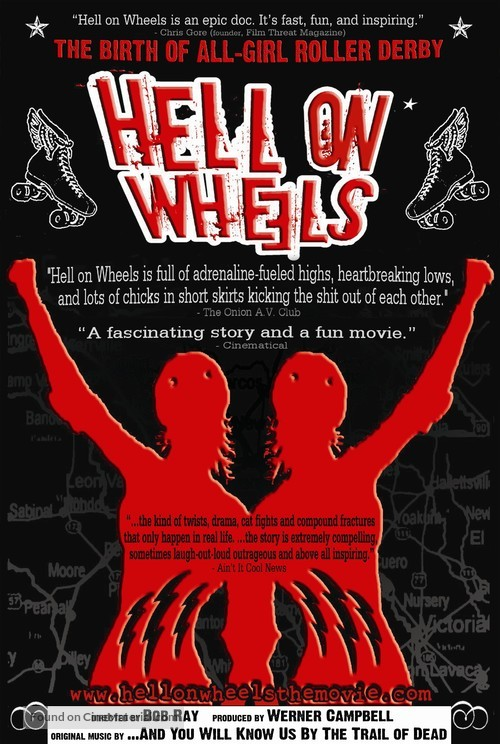 Hell on Wheels - Movie Poster