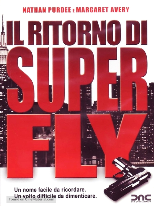 The Return of Superfly - Italian Movie Cover