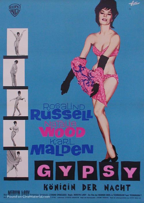 Gypsy - German Movie Poster