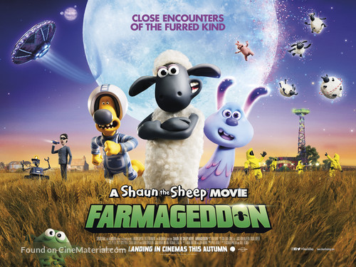A Shaun the Sheep Movie: Farmageddon - British Movie Poster