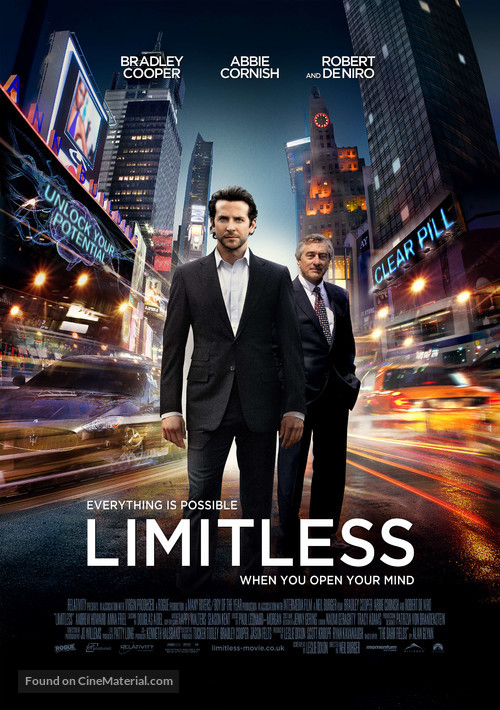 Limitless - British Movie Poster
