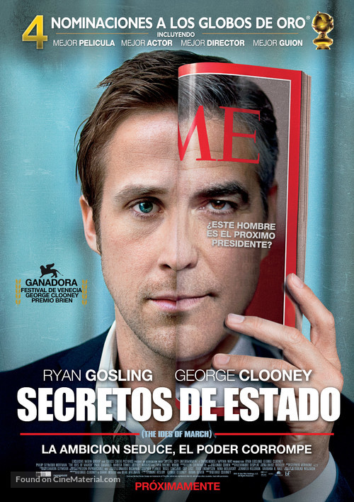 The Ides of March - Chilean Movie Poster
