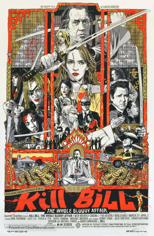 Kill Bill: Vol. 1 - poster