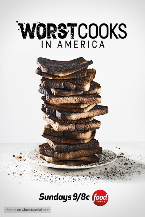 """""""Worst Cooks in America"""" - Movie Poster"""