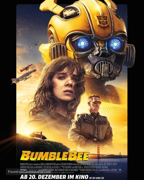 Bumblebee - German Movie Poster