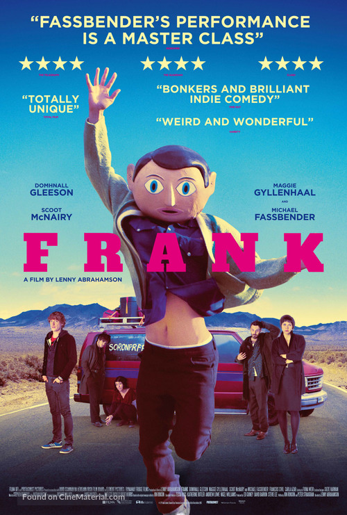 Frank - British Movie Poster