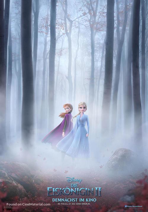 Frozen II - German Movie Poster