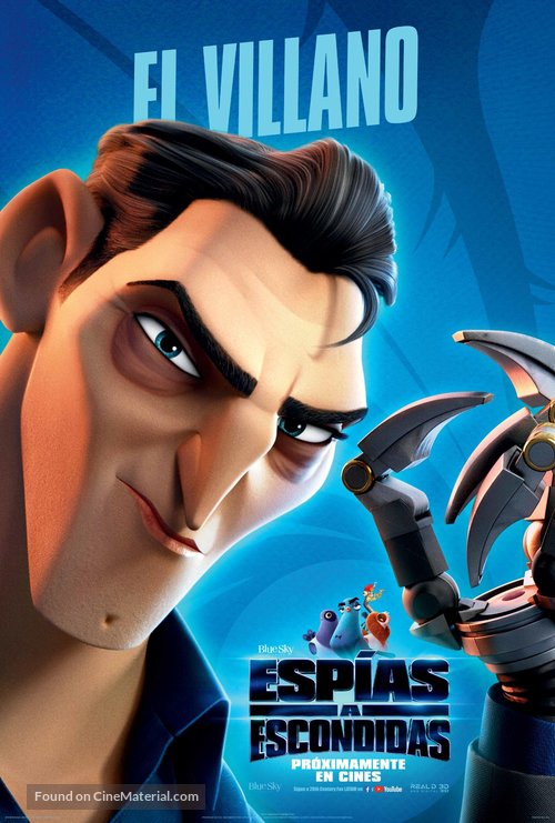 Spies in Disguise - Mexican Movie Poster