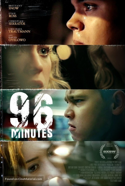 96 Minutes - Movie Poster