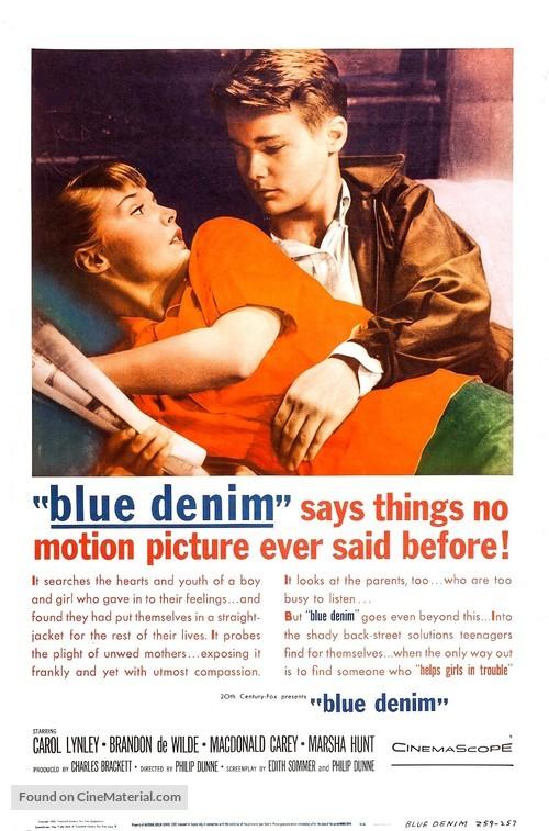 Blue Denim - Movie Poster