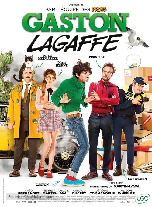 Gaston Lagaffe - French Movie Poster