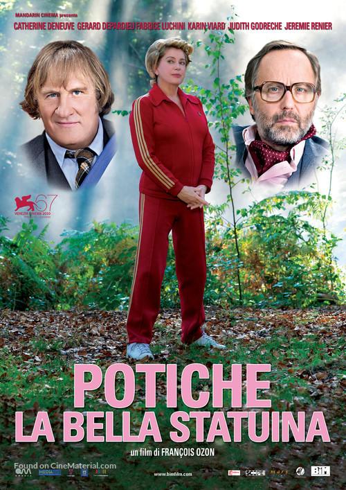 Potiche - Italian Movie Poster