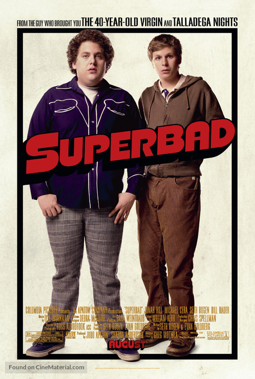 Superbad - Movie Poster