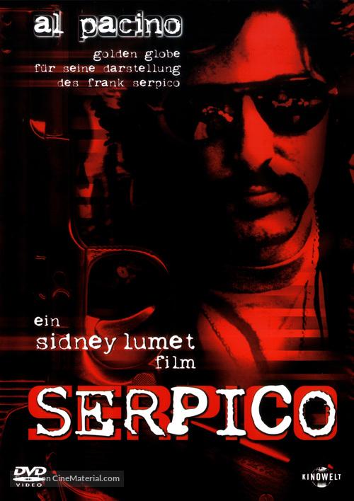 Serpico - German DVD movie cover