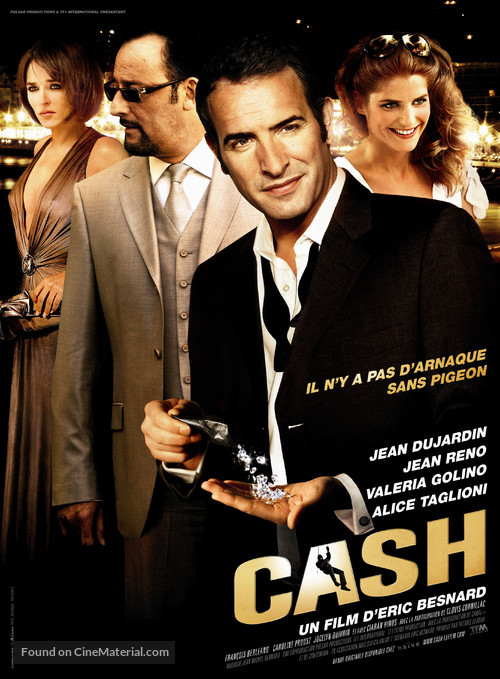Cash - French Movie Poster