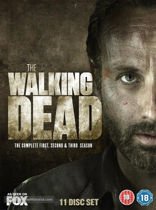 """""""The Walking Dead"""" - British DVD cover"""