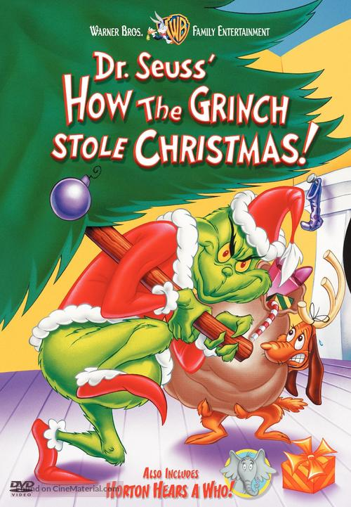 How the Grinch Stole Christmas! - DVD movie cover
