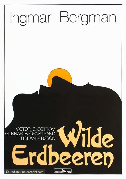 Smultronstället - German Movie Poster