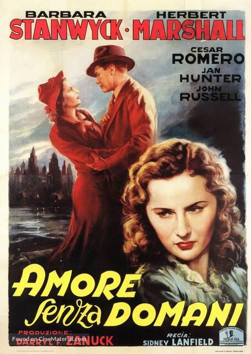 Always Goodbye - Italian Movie Poster
