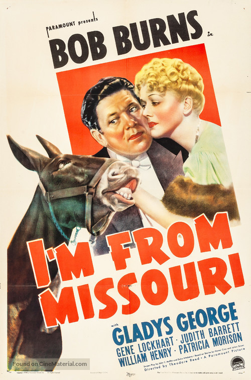 I'm from Missouri - Movie Poster