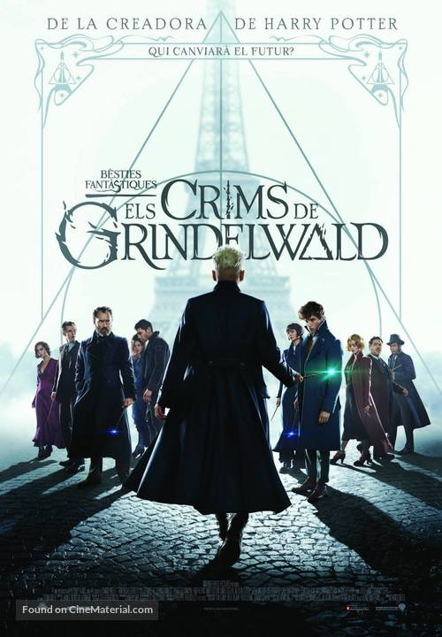 Fantastic Beasts: The Crimes of Grindelwald - Andorran Movie Poster