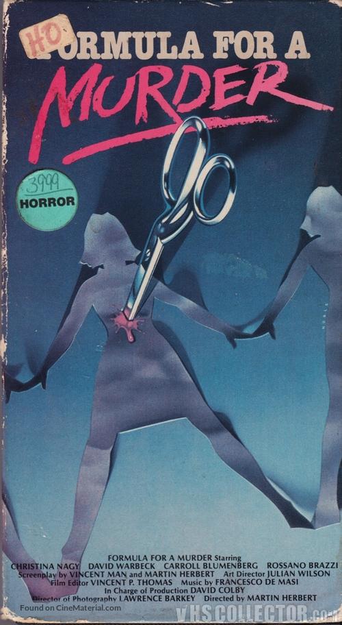 7, Hyden Park: la casa maledetta - VHS movie cover