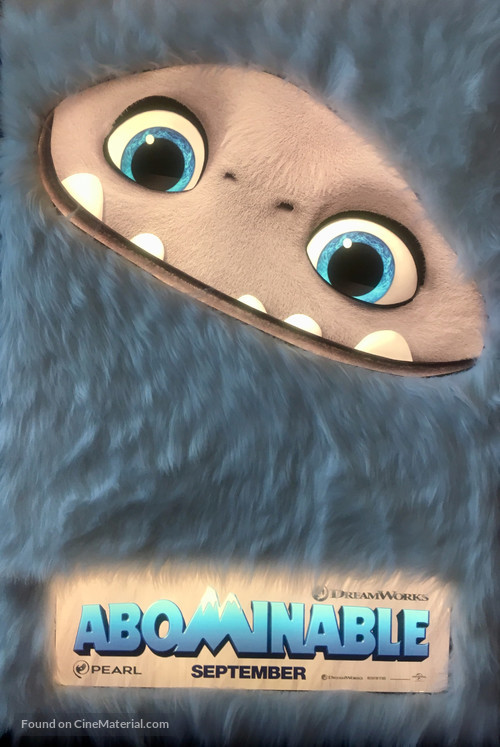 Abominable - Movie Poster