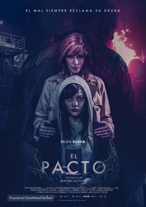 El pacto - Spanish Movie Poster