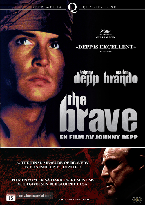 The Brave - Norwegian DVD movie cover