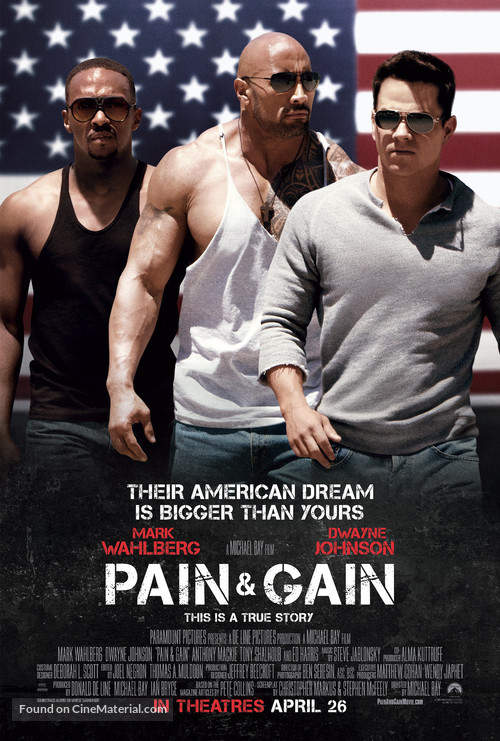 Pain & Gain - Movie Poster