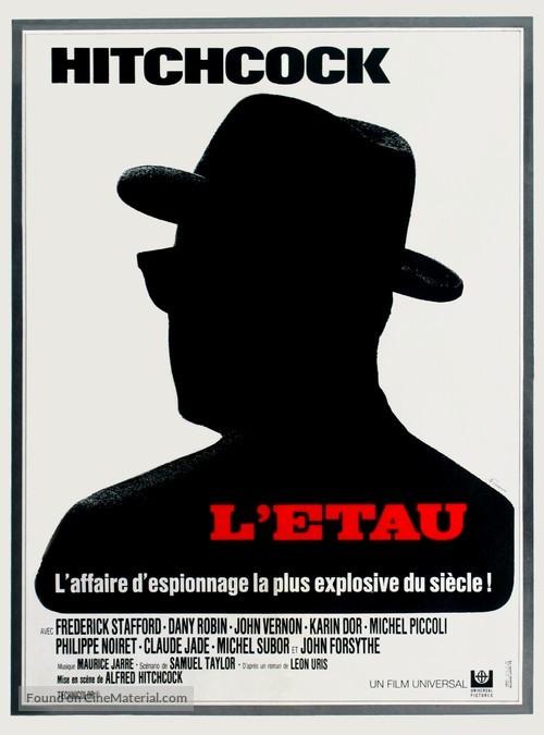 Topaz - French Movie Poster