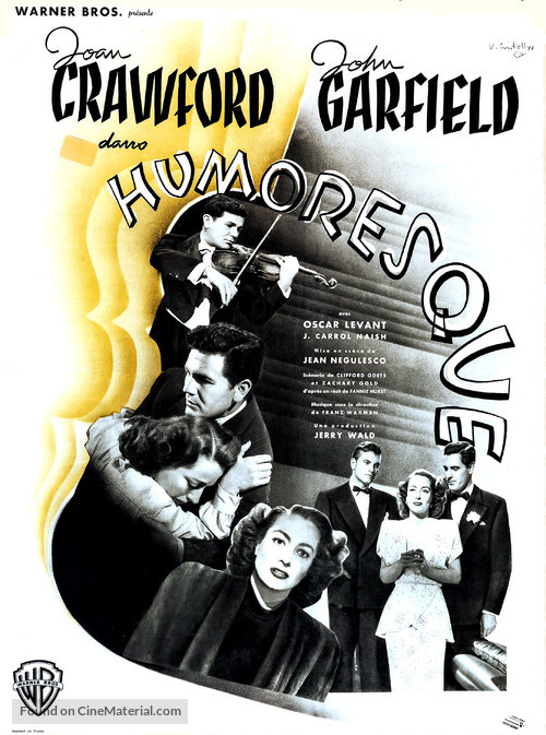 Humoresque - French Movie Poster