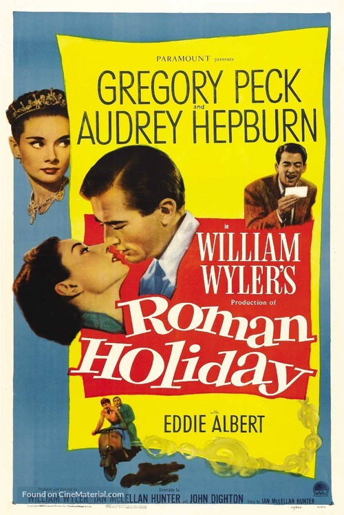 Roman Holiday - Movie Poster