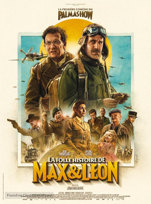 La folle histoire de Max et Léon - French Movie Poster
