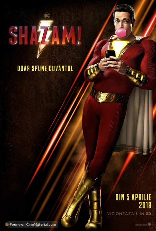 Shazam! - Romanian Movie Poster