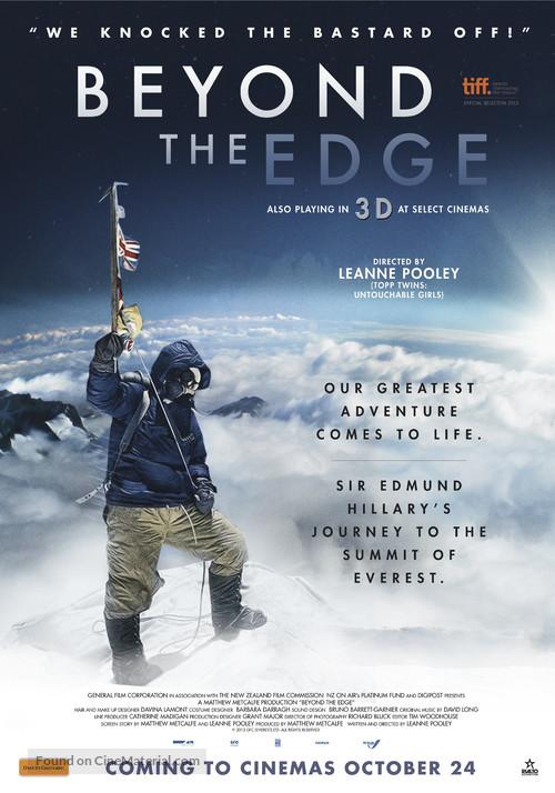 Beyond the Edge - Australian Movie Poster