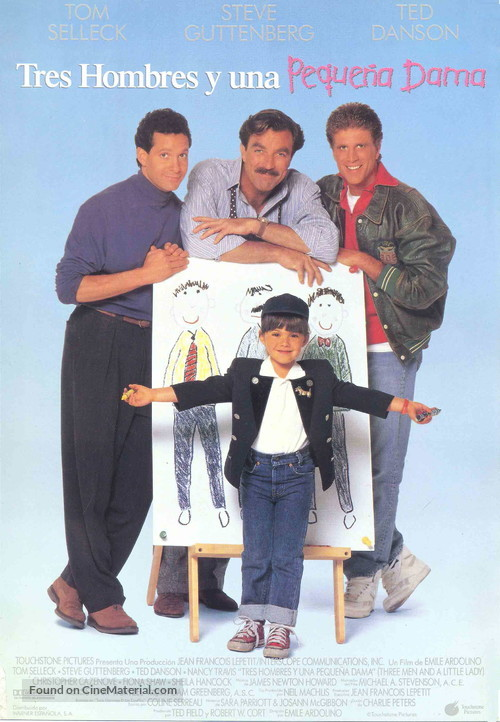3 Men and a Little Lady - Movie Poster