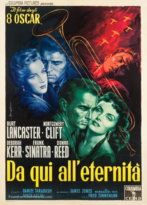 From Here to Eternity - Italian Movie Poster