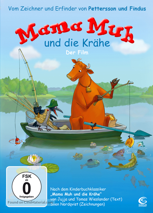 """Mamma Mu & Kråkan"" - German Movie Cover"