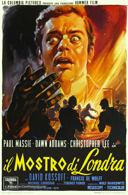 The Two Faces of Dr. Jekyll - Italian Movie Poster