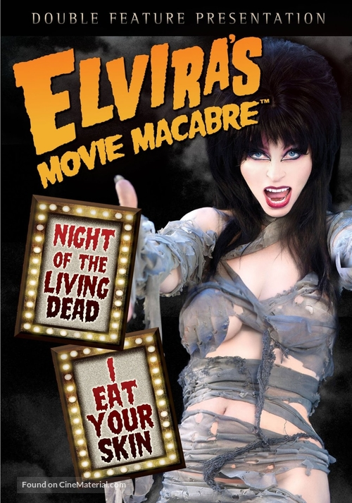 """Elvira's Movie Macabre"" - DVD cover"