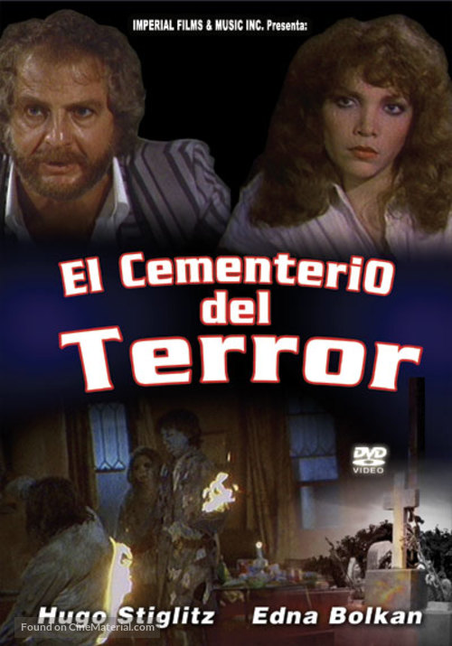 Cementerio del terror - Argentinian DVD movie cover