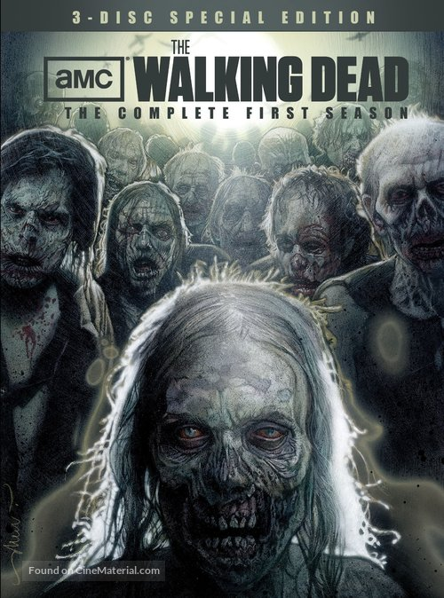 """The Walking Dead"" - DVD movie cover"