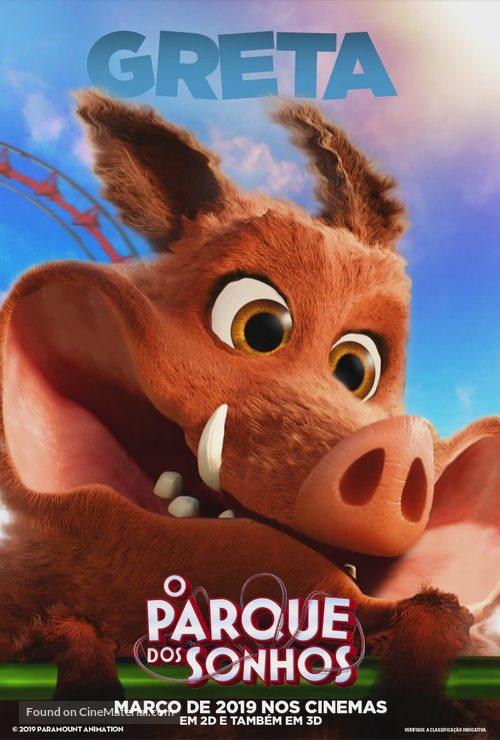 Wonder Park - Brazilian Movie Poster