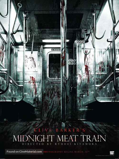 The Midnight Meat Train - Movie Poster